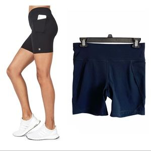 "New Sweaty Betty the power biker short 6"" pockets"